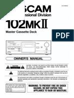 102mkII Manual