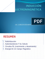 CIRCUITOS Y MAQUINA ELÉCTRICAS - CLASE 5 - INDUCCTANCIA