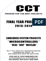 2013-14 Embedded Systems Project List - Non IEEE Based Embedded - Electronics - Electrical - Power Electronics - 2013-14