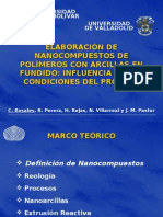 Carmen Rosales - Nanocompuestos de Polimeros en Fundido