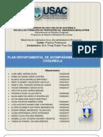 PLAN DEPARTAMENTAL DE ACOMPAÑAMIENTO EDUCATIVO DE CHIQUIMULA