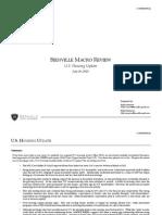 Bienville Macro Review (U.S. Housing Update)