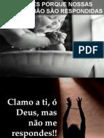 7 RAZÕES PORQUE NOSSAS ORAÇÕES NÃO SÃO RESPONDIDAS - Jó 30.20