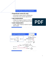 FrequencyResponse of control systems