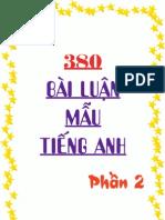380 Bai Luan Mau Tieng Anh P2