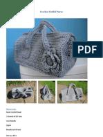 Crochet Duffel Purse
