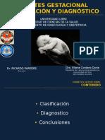 DMG, Diagnostico y clasificación