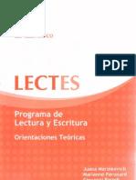 Lectes - teorico-escritura