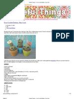 Gleeful Things » Free Crochet Pattern_ Tiny Cacti