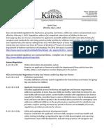 Ll Regulations Summary 2012