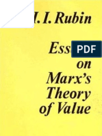 130091246 Rubin Isaak Illich Essays on Marx s Theory of Value 1973 Transl by Milos Samardzija and Fredy Perlman by the Russian 3rd Edition 1928