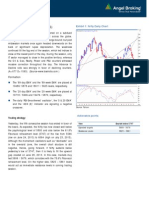 Daily Technical Report, 31.07.2013