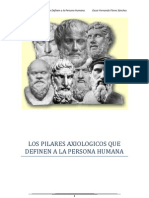 Los Pilares Axiológicos Que Definen a La Persona Humana