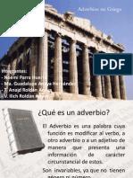 Adverbios -Griego. Expo