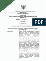 Perka LKPP Nomor 18 Tahun 2012 Tentang E-Tendering