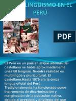 MULTILINGÜISMO EN EL PERÚ 1.pptx