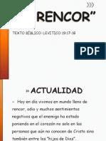 EL RENCOR