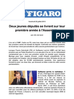 Le Figaro 26 Juillet 2013