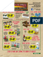 Nature's Supply August Sales Flyer