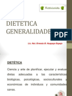 DIETETICA GENERALIDADES