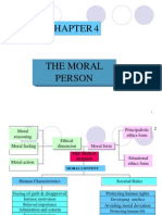 Moral Chapter 4 moral person