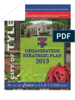 City of Tyler 2013 Strategic Plan