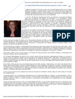 La OPS_OMS rinde homenaje póstumo a la Dra. Yadira Carrera