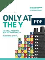 2013 Fall Program Guide