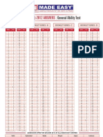 General Ability Test Solution_2012