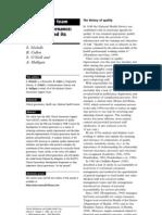 Clinical Governance Origins Foundations
