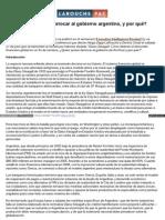 Spanish Larouchepac Com Derrocar Gobierno Argentino