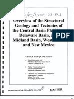 Reservoir Characterization Basin Platform