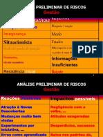 Analise Preliminar de Riscos
