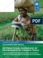 International Guidebook of Environmental Finance Tools