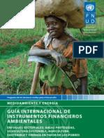 Guía Internacional de Instrumentos Financieros Ambientales