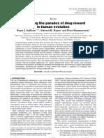 Sullivan Et Al 2008 Revealing the Paradox of Drug Reward in Human Evolution