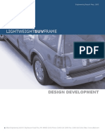 Lightweight SUV Frame Design Development