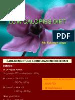 Low Calories Diet