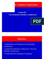Von Neumann Machine Architecture (CSO)