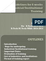 11575_3_Guidelines for 6 Weeks Industrial Training