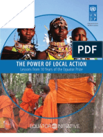 The Power of Local Action for Sustainable Development