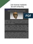 dentificación forense mediante técnicas de soft computing