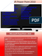Tutorial de Power Point 2010 Ing.danilo Castillo