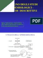 Epi 5 - Gli Studi Epidemiologici Descrittivi