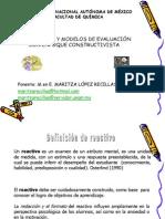 EVALUACIÓN-CURSO-3-Reactivos