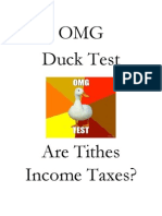 OMG Duck Test