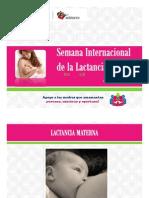 Semana Internacional Lactancia Materna 2013