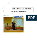 ORATORIA EMOCIONAL - Básico - Apostila
