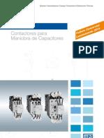 WEG Cwmc Contactores Para Maniobra de Capacitores 50031068 Catalogo Espanol