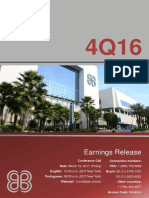 EARNINGS RELEASE 4Q16